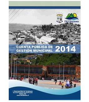 Cuenta Pública de Gestión Municipal 2014