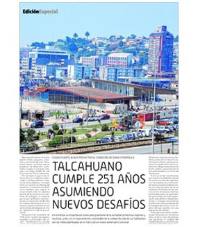 Edición Especial Aniversario Talcahuano 251 años (Diario Concepción)