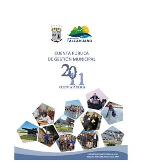 Cuenta Pública de Gestión Municipal 2011